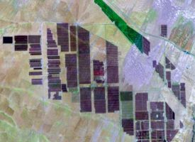 Remote Sensing of Solar Park Impacts