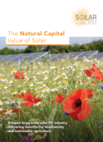 Natural Capital Value of Solar - SPIES section