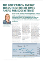 The low carbon energy transition: bright times ahead for ecosystems?