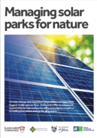 Managing solar parks for nature